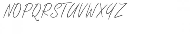 Githa Lovely Font UPPERCASE