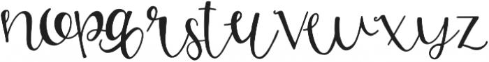 GJ Smarty Pants otf (400) Font LOWERCASE