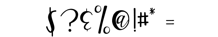 GJ Smarty Pants Regular Font OTHER CHARS