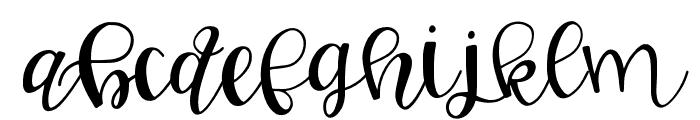 GJ Smarty Pants Regular Font LOWERCASE
