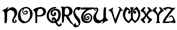 Gjallarhorn Font UPPERCASE