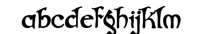Gjallarhorn Font LOWERCASE