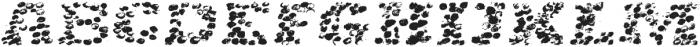 Glabella italic otf (400) Font LOWERCASE