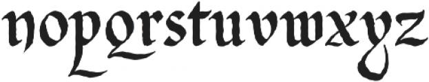 Gladstone Street otf (400) Font LOWERCASE