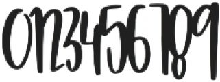 Glam Pastry otf (400) Font OTHER CHARS