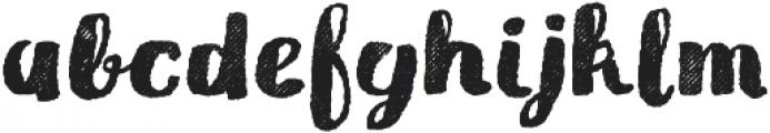 Gliny Brush Rasp otf (400) Font LOWERCASE