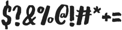 Gliny Hand Dense otf (400) Font OTHER CHARS