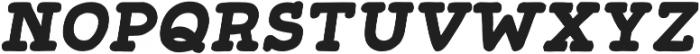 Gliny Hand Slab 300 Italic otf (300) Font UPPERCASE