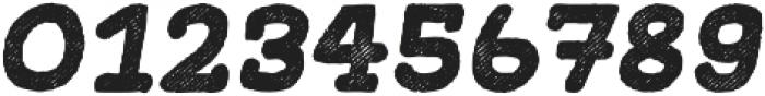 Gliny Hand Slab Rasp Italic otf (400) Font OTHER CHARS