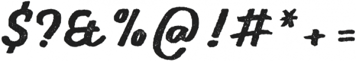 Gliny Script Press otf (400) Font OTHER CHARS