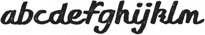 Gliny Script Press otf (400) Font LOWERCASE