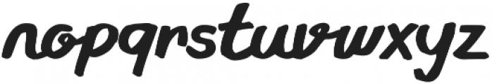 Gliny Script otf (400) Font LOWERCASE