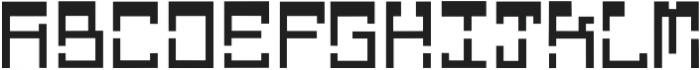 Glitch otf (400) Font UPPERCASE