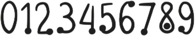Glob Bold Bold otf (700) Font OTHER CHARS