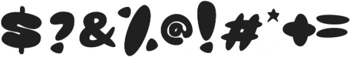 Glob otf (400) Font OTHER CHARS