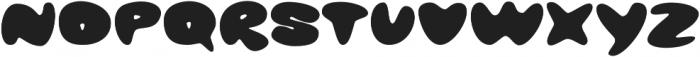 Glob otf (400) Font UPPERCASE