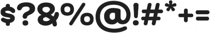 Globa Black otf (900) Font OTHER CHARS