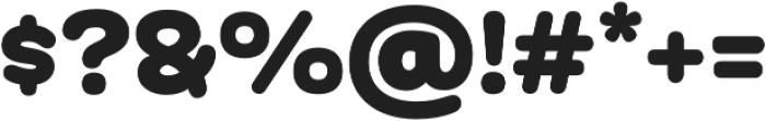 Globa ExtraBlack otf (900) Font OTHER CHARS