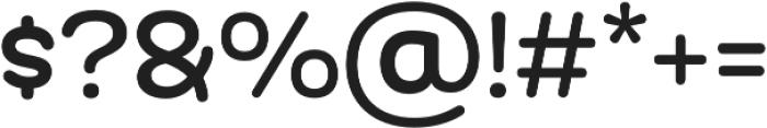 Globa otf (400) Font OTHER CHARS