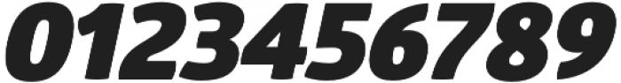 Glober Black Italic otf (900) Font OTHER CHARS