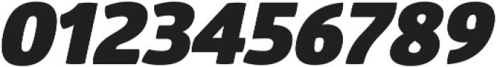 Glober Black Italic ttf (900) Font OTHER CHARS
