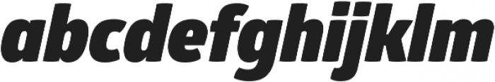 Glober Black Italic ttf (900) Font LOWERCASE