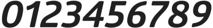 Glober Bold Italic otf (700) Font OTHER CHARS