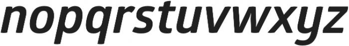 Glober Bold Italic otf (700) Font LOWERCASE