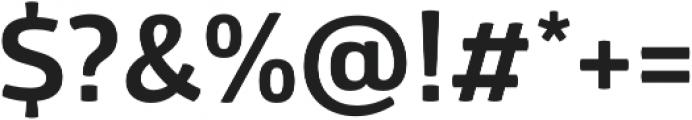 Glober Bold otf (700) Font OTHER CHARS