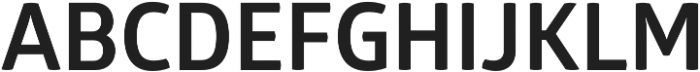 Glober Bold otf (700) Font UPPERCASE