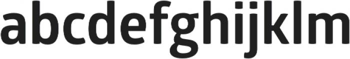Glober Bold otf (700) Font LOWERCASE