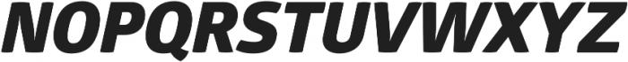 Glober Heavy Italic ttf (800) Font UPPERCASE