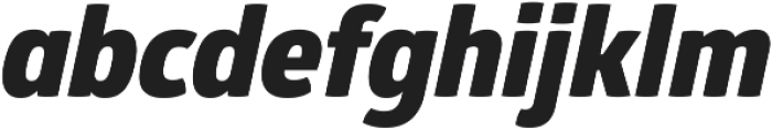 Glober Heavy Italic ttf (800) Font LOWERCASE