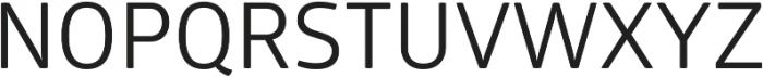 Glober Regular ttf (400) Font UPPERCASE