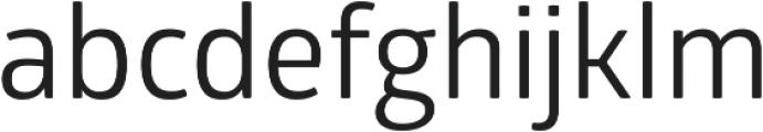 Glober Regular ttf (400) Font LOWERCASE