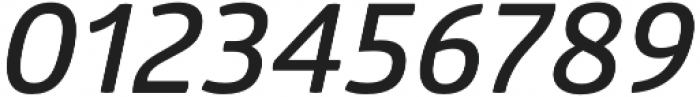 Glober SemiBold Italic otf (600) Font OTHER CHARS