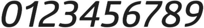 Glober SemiBold Italic ttf (600) Font OTHER CHARS