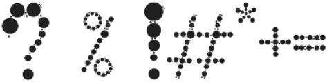 Globule Circle Font otf (400) Font OTHER CHARS