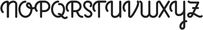 Glodiolusy otf (400) Font UPPERCASE