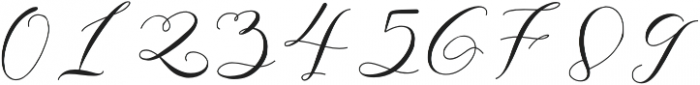 Gloresia otf (400) Font OTHER CHARS