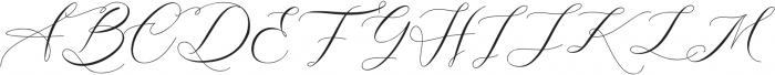 Gloresia otf (400) Font UPPERCASE
