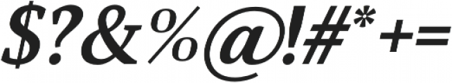 Glorial Serif otf (400) Font OTHER CHARS