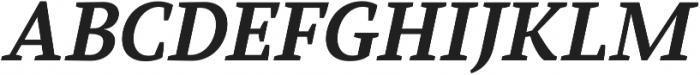 Glorial Serif otf (400) Font UPPERCASE