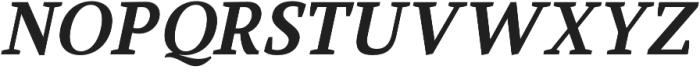 Glorial Serif otf (400) Font LOWERCASE