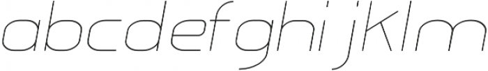 Glorifie otf (100) Font LOWERCASE