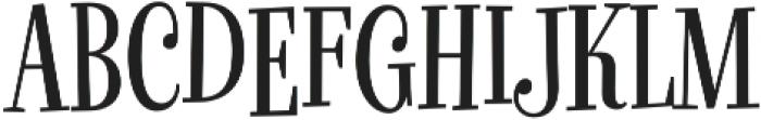 Glorious Song Regular otf (400) Font UPPERCASE