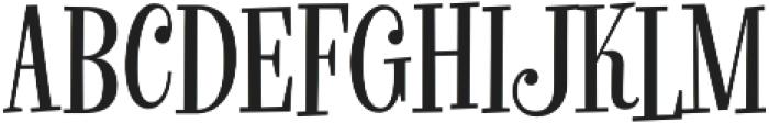 Glorious Song Regular otf (400) Font LOWERCASE