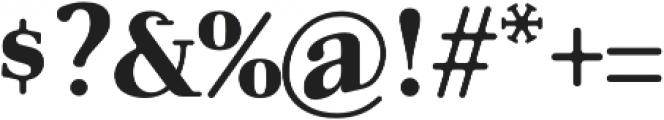 Glory Serif otf (400) Font OTHER CHARS