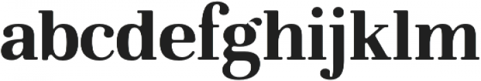 Glory Serif otf (400) Font LOWERCASE
