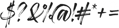Gloss And Bloom Alternates ttf (400) Font OTHER CHARS